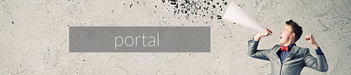 portal title
